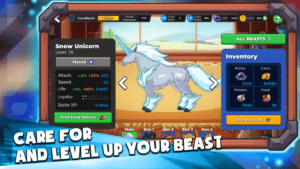 Langlandia Care For and Level Up Your Beast Game Play Screenshot
