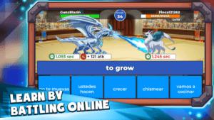 Langlandia Learn by Battling Online Game Play Screenshot