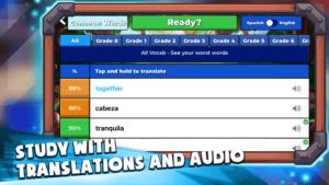 Langlandia - Study with translations and Audio game play screenshot